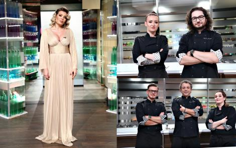 Roxana Blenche, Maria Șandru și Ionut Belei sunt finaliștii sezonului 8 Chefi la cuțite. Emisiunea a fost lider de audiență