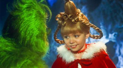 Taylor Momsen în rolul fetiței din filmul Grinch