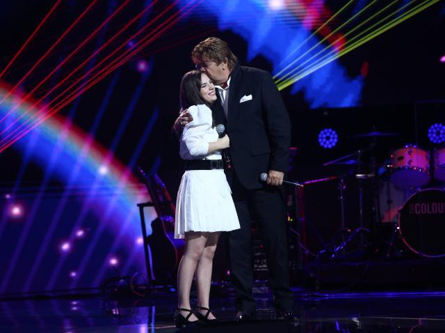 Andrada Precup, pe scena X Factor 2020, alături de Adrian Daminescu