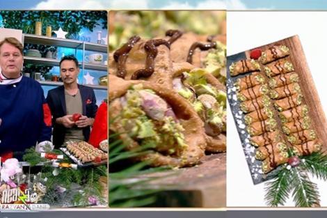 Rețetă de cannoli cu cremă de mascarpone și fructe, preparată de Vlăduț la Neatza cu Răzvan şi Dani