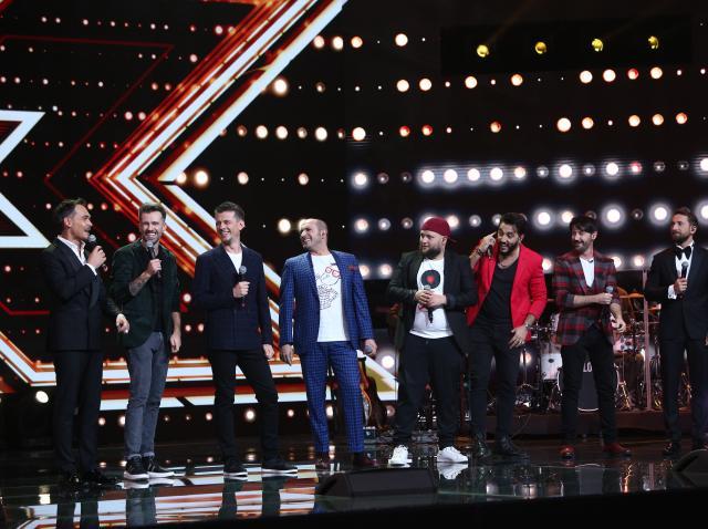 Super 4, frații Ristei și prezentatorii Răzvan și Dani, în Finala X Factor 2020