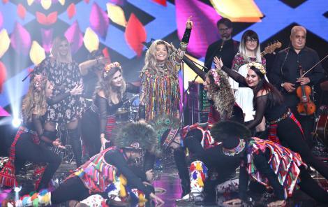 Loredana Groza, pe scena X Factor 2020, marea finala