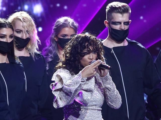 Bella Santiago, scena X Factor 2020, marea finala