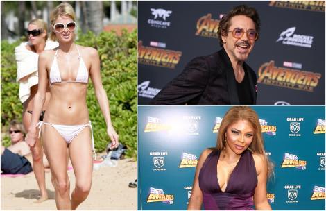 Colaj vedete inchisoare,. Paris Hilton, Robert Downey Jr, Lil'Kim