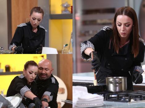 Lavinia Ilcău, în bucătăria Chefi la cuțite
