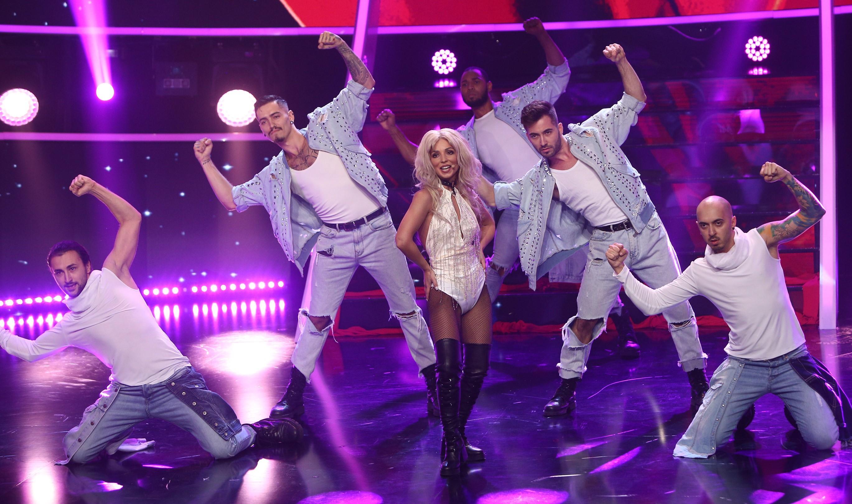 """Finala Te cunosc de undeva 2020. AMI, transformare spectaculoasă în Britney Spears: """"Prima finalistă, primul mega-show!"""""""