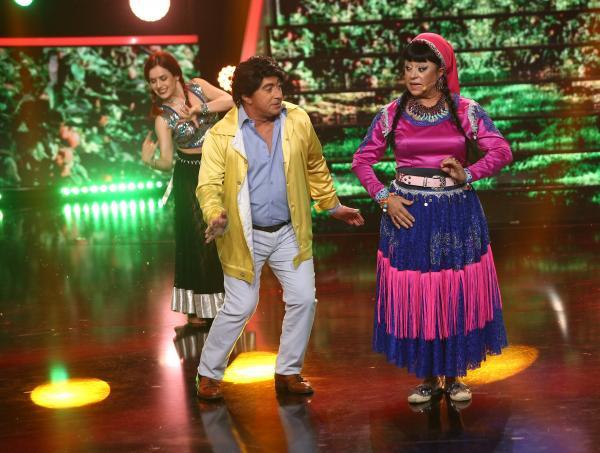 Adriana Trandafir și Romică Țociu, prestație demnă de Bollywood pe scenă