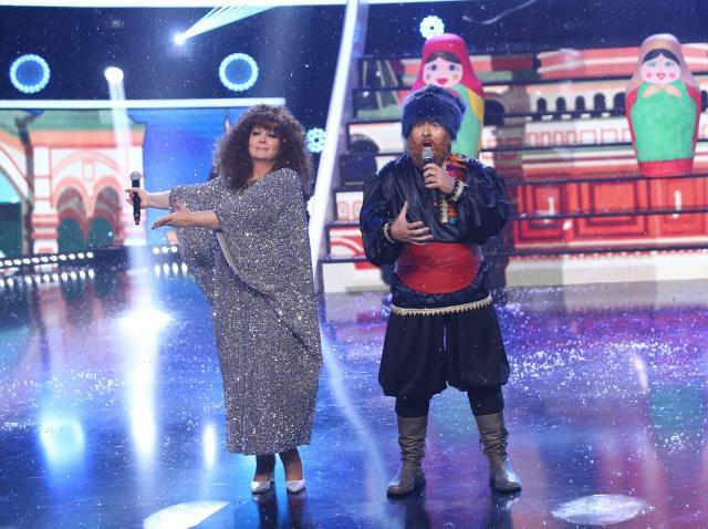 """Monica Anghel și Marcel Pavel au strălucit pe scenă și au interpretat piesa """"Kalinka"""""""