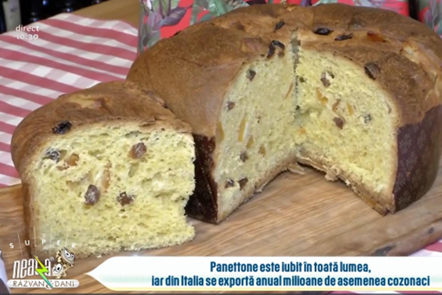 Istoria cozonacului italienesc Panettone și ce ingrediente se folosesc în rețeta clasică