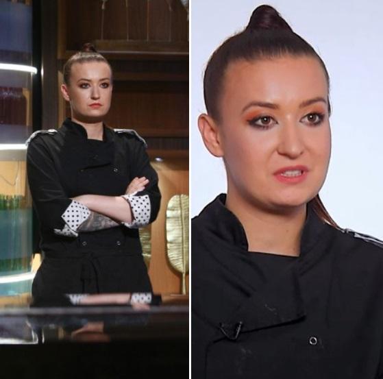 """Roxana Blenche în sezonul 8 al emisiunii """"Chefi la cuțite"""""""