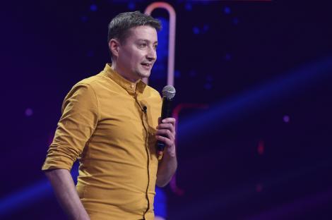 """Finala iUmor 2020. Cristi Manolescu a făcut show la superlativ cu glumele lui: """"Îți mulțumesc pentru tot ceea ce ne-ai oferit"""""""