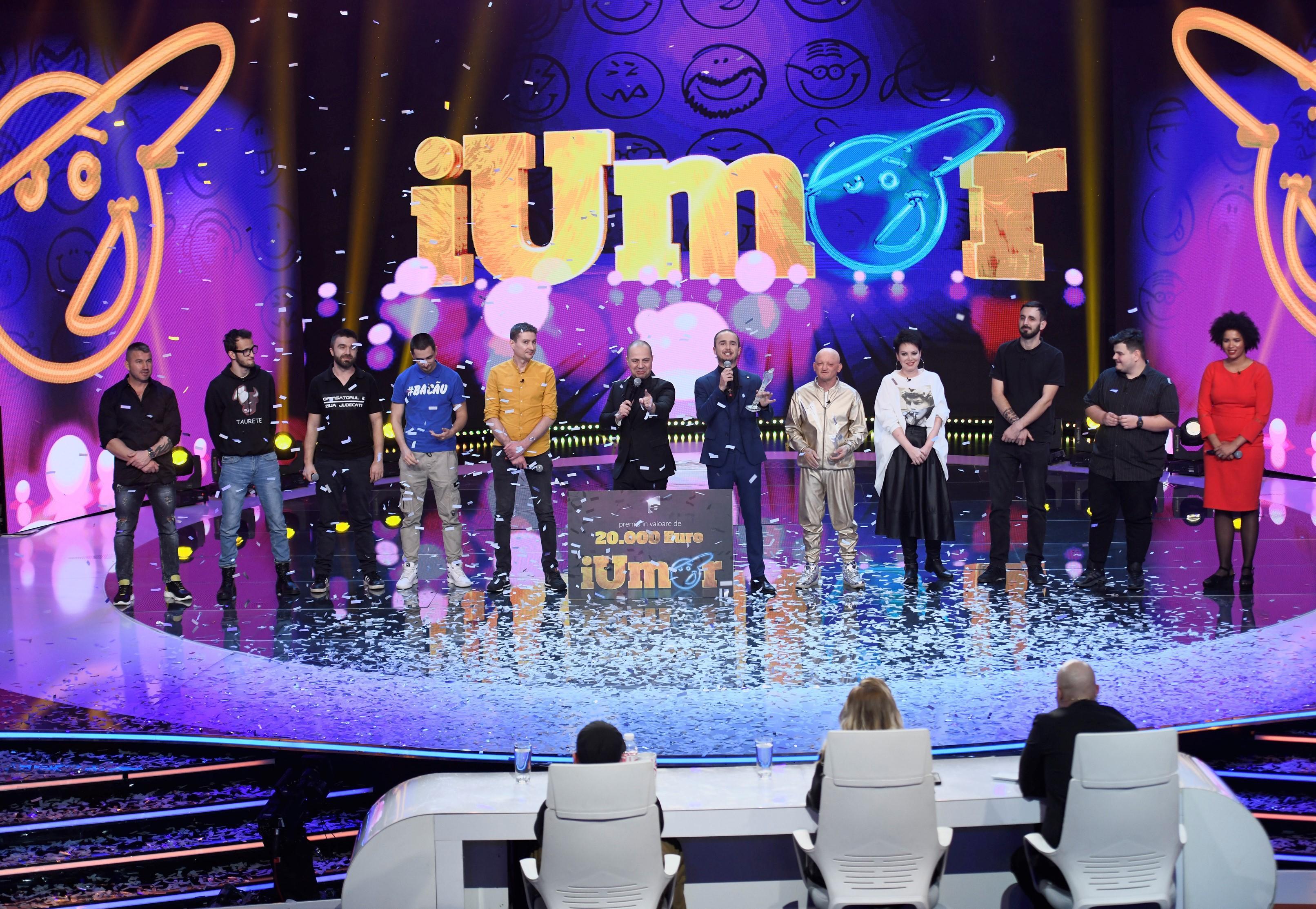 Finala iUmor 2020. Cine este marele câștigător al sezonului 9