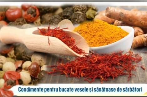 Condimente gustoase și sănătoase