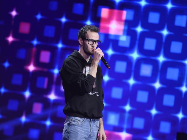 Andrei Ungureanu, pe scena Finalei iUmor 2020