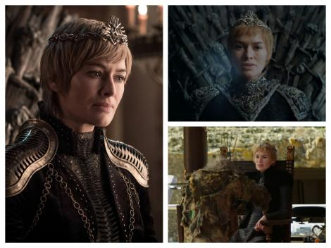 Colaj cu Cersei, din GOT