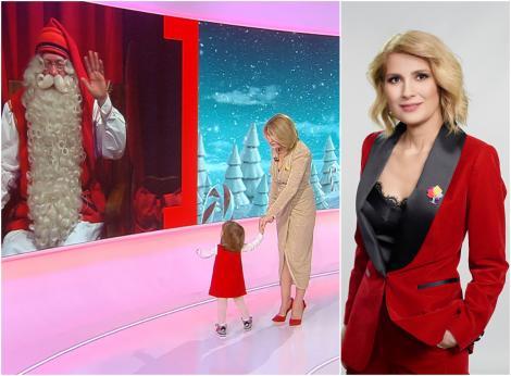 Alessandra Stoicescu, interviu în exclusivitate cu Moş Crăciun, în seara de Ajun, la Observator 19.00