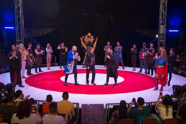 nea marin si concurentii de la poftiti la circ, in emisiunea care are premiera pe 28 decembrie 2020