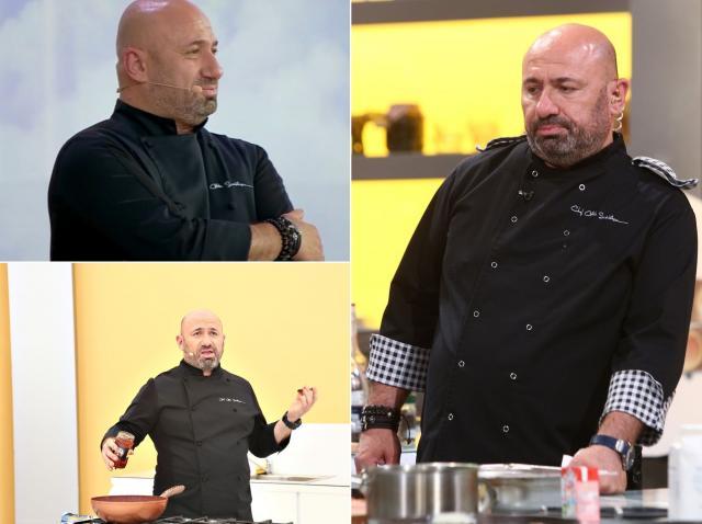 catalin scarlatescu, de la chefi la cutite, in platoul emisiunii culinare inainte sa vorbeasca despre relatia sa