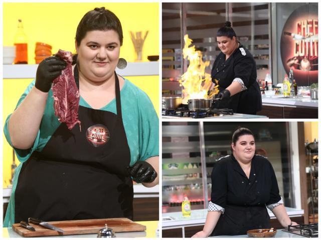Claudia Radu, în competiția Chefi la cuțite
