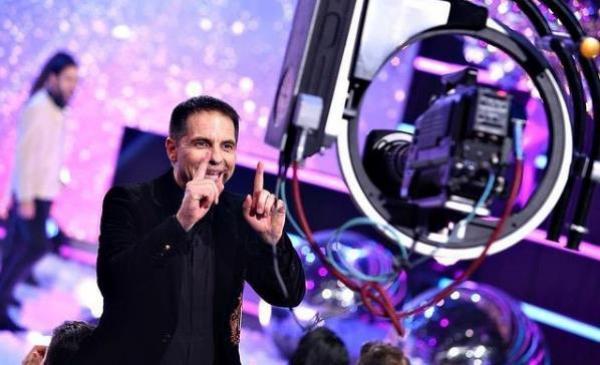 Dan Negru, în fața camerelor de filmat