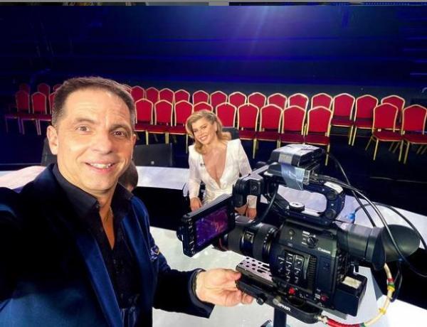 Dan Negru, împreună cu Loredana Groza