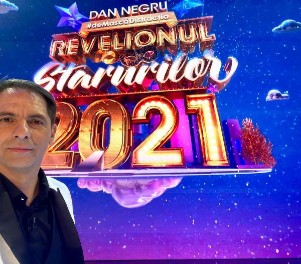 Dan Negru, la Revelionul 2021