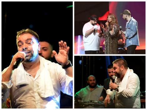 Colaj Florin Salam pe scenă