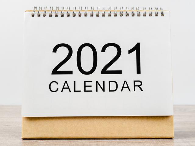 Calendarul zilelor libere 2021