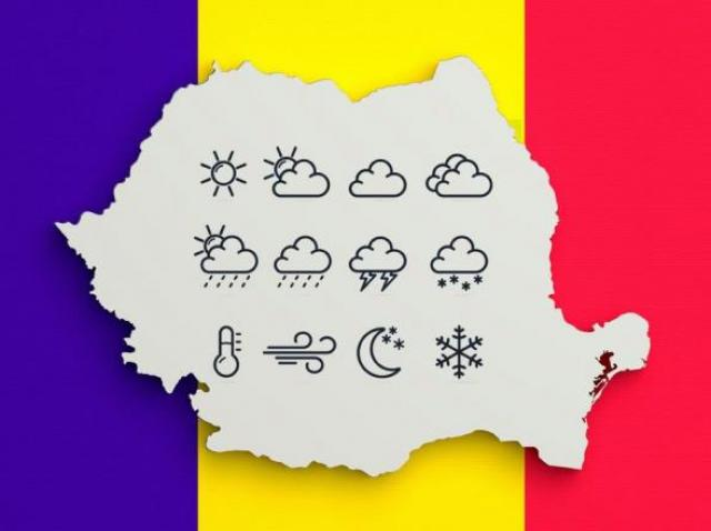 Prognoza meteo, 24 decembrie