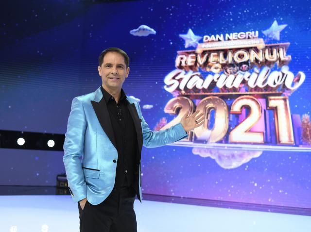 Cel mai lung Revelion cu Dan Negru din istoria televiziunii - Revelionul Starurilor 2021
