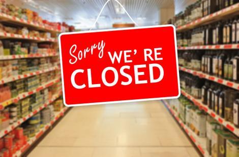 imagine cu supermarketurile din romania, care vor avea program redus pe 31 decembrie 2020, 1 si 2 ianuarie 2021
