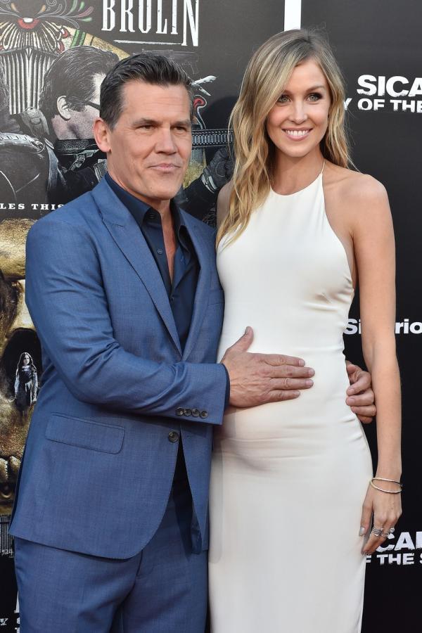 Josh Brolin și soția sa Kathryn