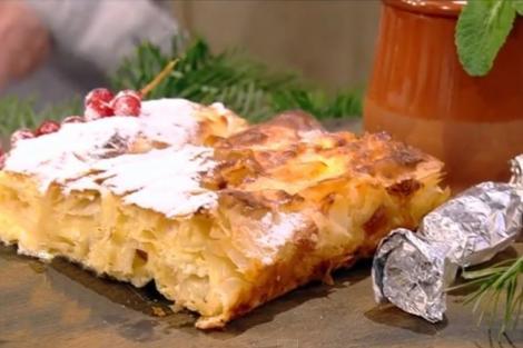 plăcintă cu brânză și răvașe