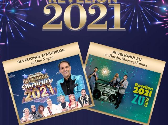 Revelion 2021 cu Dan Negru