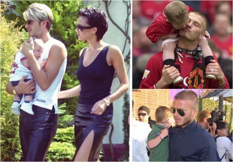 Băieții lui David Beckham, de nerecunoscut acum că au crescut. Cât de bine seamănă cu tatăl lor celebru