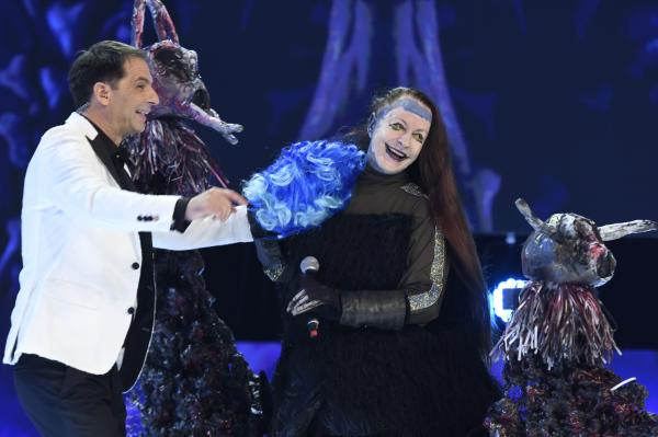 Hades, la Revelionul Starurilor 2021, demascare Maria Dragomiroiu