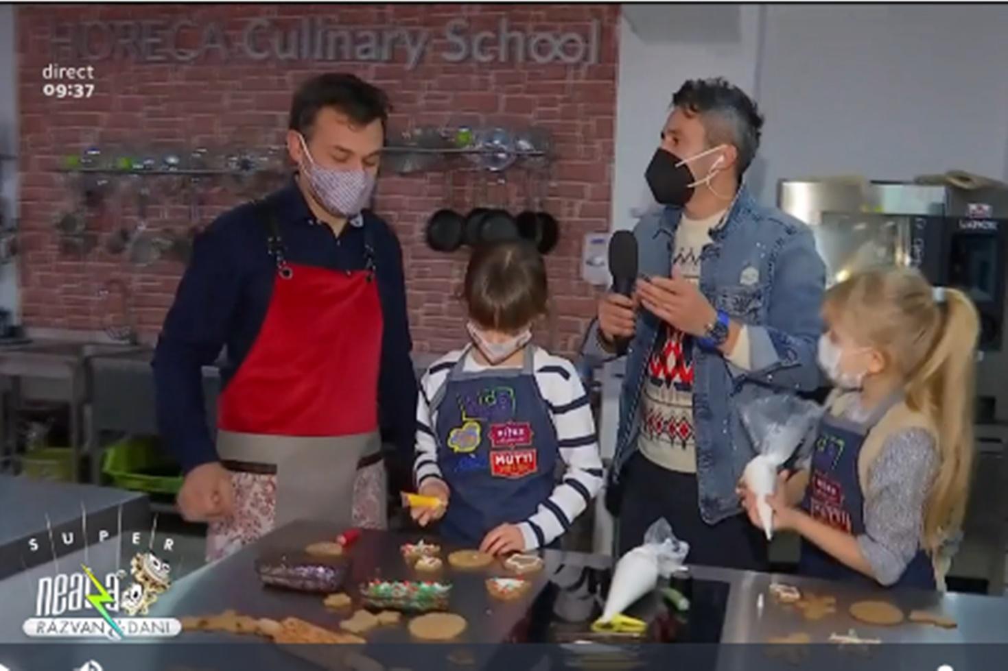 Învățăm să facem turtă dulce în casă cu Marian Duță la atelierul de turtă dulce