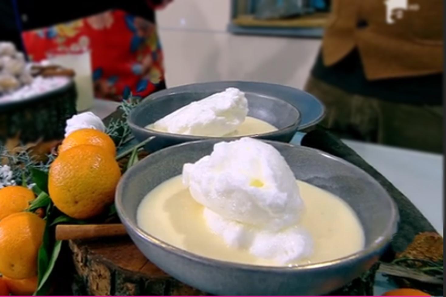 Rețeta Lapte de pasăre, gătită de Vlăduț la Neatza cu Răzvan și Dani