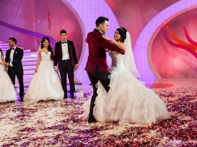 Grigore si Mariana Moldovan, la nunta lor de la mireasa pentru fiul meu