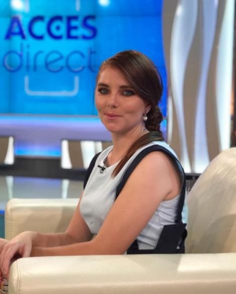 """Vulpița Veronica la emisiunea """"Acces Direct"""", de la Antena 1"""