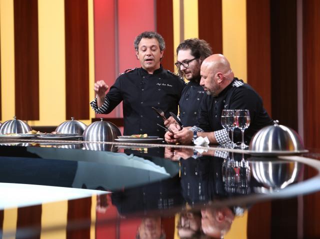 """Sorin Bontea, Florin Dumitrescu și Cătălin Scărlătescu, la """"Chefi la cuțite"""", sezonul 8"""