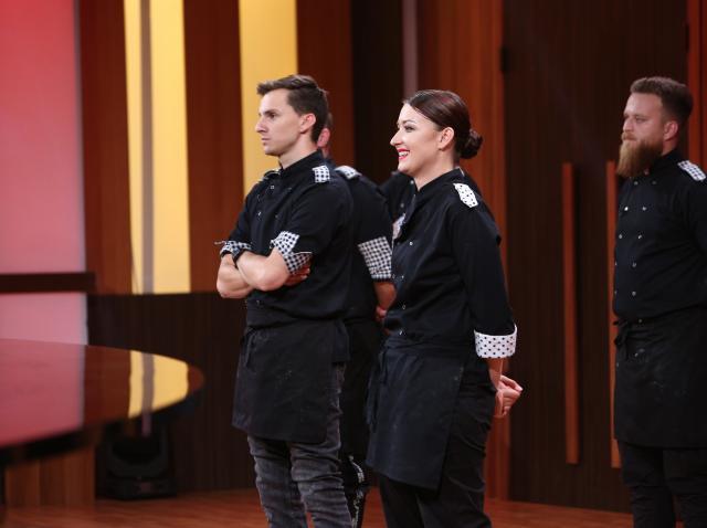 """Cristian Boca și Roxana Blenche, în edițai 40 din sezonul 8 """"Chefi la cuțite"""""""
