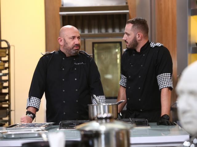 """Cătălin Scărlătescu în ediția 41 din sezonul 8 """"Chefi la cuțite"""""""