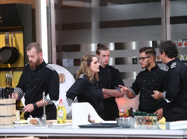 """Maria Șandru în eidția 41 din sezonul 8 """"Chefi la cuțite"""""""