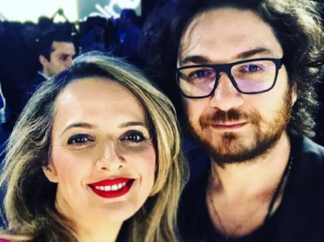 Florin Dumitrescu și soția sa