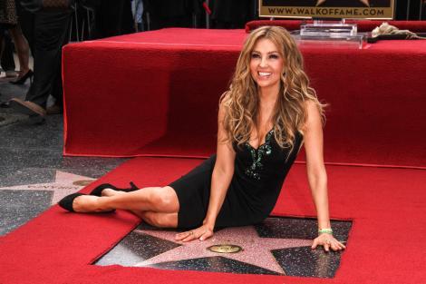 Thalia, cand si-a primit steaua pe Hollywood Walk of Fame