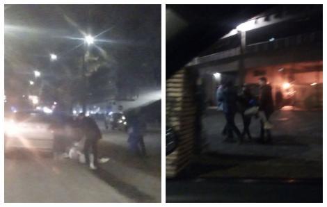 """""""Îl iau ca pe mort şi-l îndeasă în maşină""""! Un tânăr s-a prăbușit pe asfalt, după ce a ieșit dintr-un club din Cluj! Imagini tulburătoare! FOTO"""