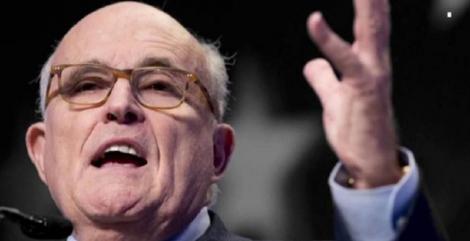 Departamentul de Justiţie primeşte informaţii despre Joe Biden şi fiul acestuia Hunter de la Rudy Giuliani, avocatul lui Trump