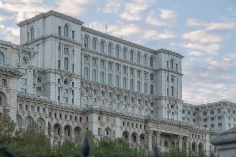 O delegaţie de sportivi şi foşti sportivi la Palatul Parlameantului. Halep cere infrastructură: E păcat de talentul nostru