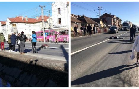 O tânără însărcinată a murit după ce a fost lovită de o mașină, în timp ce traversa strada. Avea doar 24 de ani